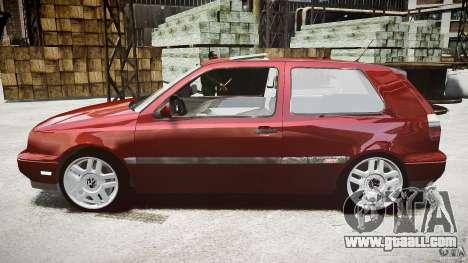 Volkswagen Golf MK3 GTI for GTA 4 left view