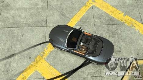 Aston Martin Volante DB9 for GTA 4 right view