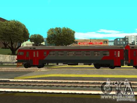 Er2 1274 RZD for GTA San Andreas left view