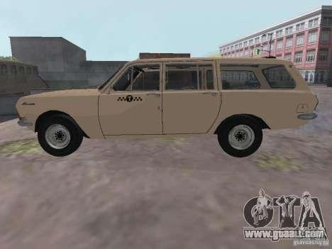 GAZ-24 Volga Taxi 02 for GTA San Andreas left view