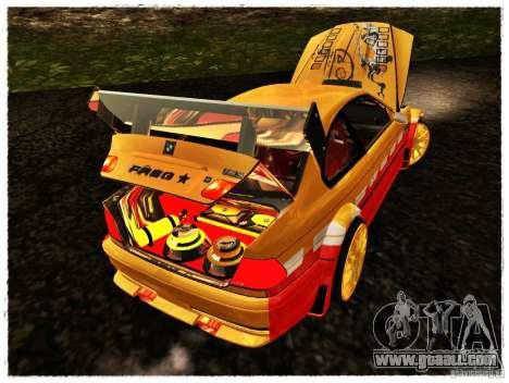 BMW M3 Calibri-Ace for GTA San Andreas back view