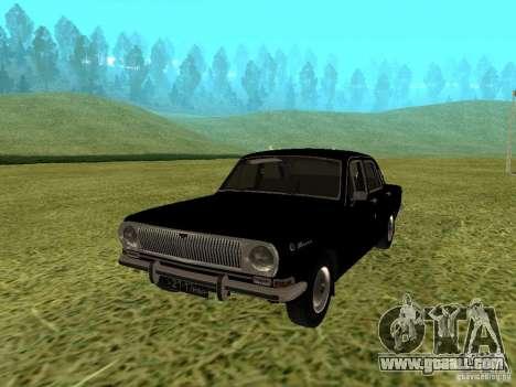GAZ-24 Volga 01 for GTA San Andreas