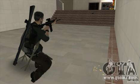 Sam Fisher for GTA San Andreas fifth screenshot