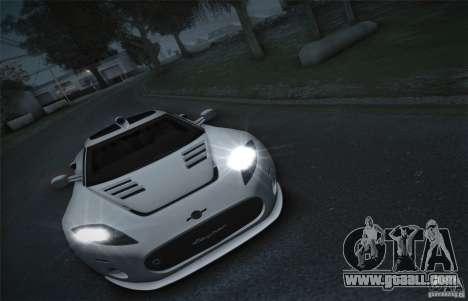 Spyker C8 Aileron for GTA San Andreas back view