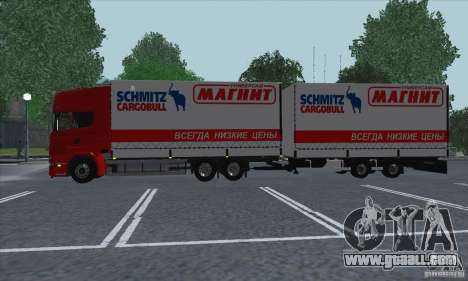 Trailer for Scania R620 for GTA San Andreas back view