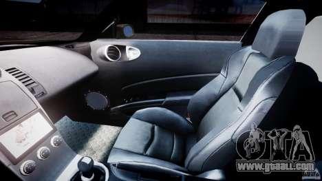 Nissan 350Z Veilside Tuning for GTA 4 inner view
