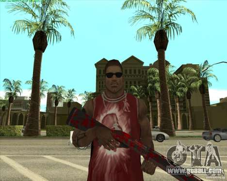 Blood Weapons Pack for GTA San Andreas twelth screenshot
