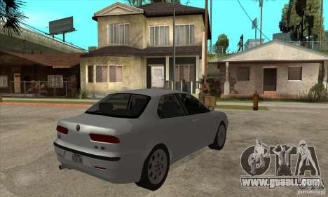 Alfa Romeo 156 2,5V6 2000 for GTA San Andreas right view