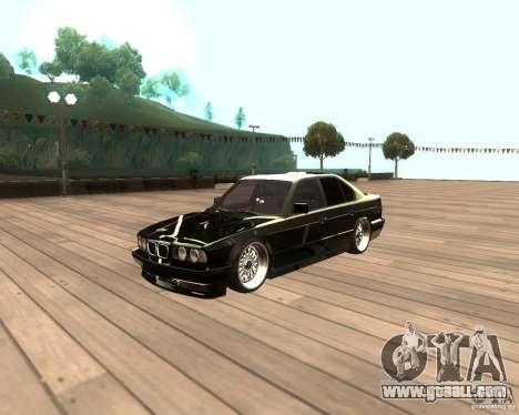 BMW M5 E34 Street for GTA San Andreas