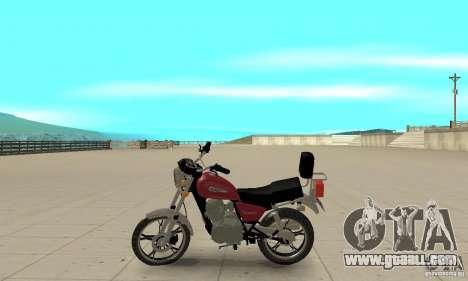 Suzuki Intruder 125cc for GTA San Andreas left view
