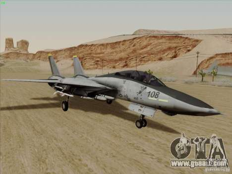 F-14 Tomcat Warwolf for GTA San Andreas
