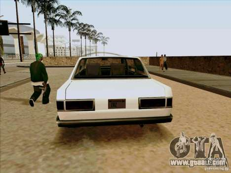 Admiral Limo for GTA San Andreas back view