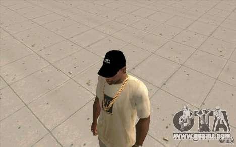 Umbro cap black for GTA San Andreas