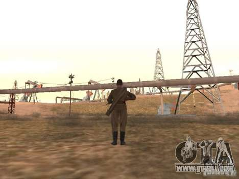 A Soviet soldier for GTA San Andreas third screenshot