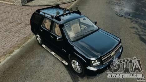 Chevrolet Tahoe LCPD SWAT for GTA 4 interior