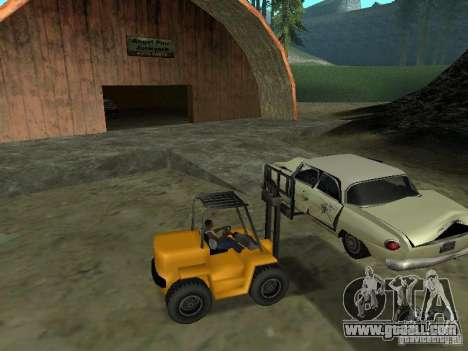 Loader for GTA San Andreas left view