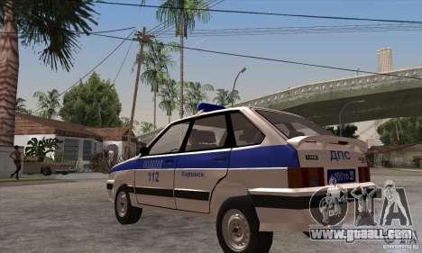 ВАЗ 2114 Police for GTA San Andreas