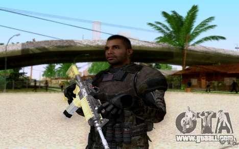 Salazar from CoD: BO2 for GTA San Andreas forth screenshot