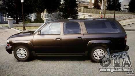 Chevrolet Suburban Z-71 2003 for GTA 4 left view