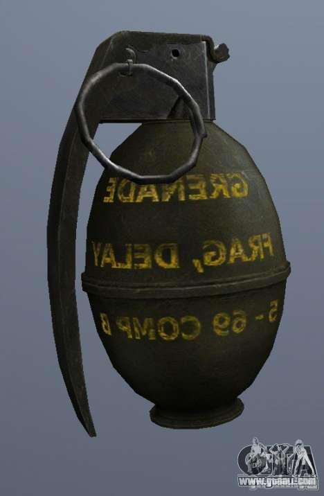 M61 Grenade for GTA San Andreas