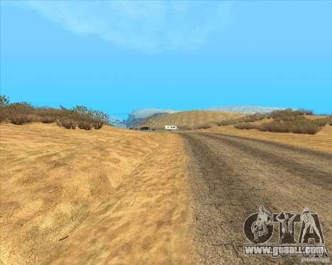 Desert HQ for GTA San Andreas second screenshot