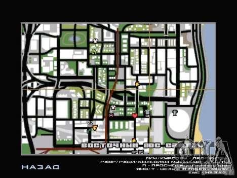Car service near Grove for GTA San Andreas sixth screenshot