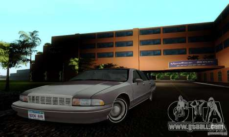 Chevrolet Caprice 1991 for GTA San Andreas