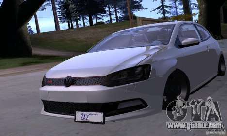 Volkswagen Polo GTI Stanced for GTA San Andreas side view