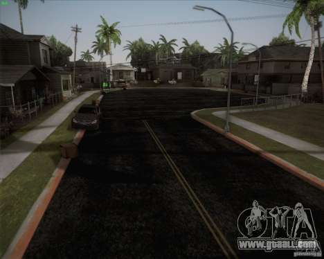 New roads around San Andreas for GTA San Andreas third screenshot