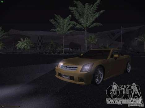 Cadillac XLR 2006 for GTA San Andreas upper view