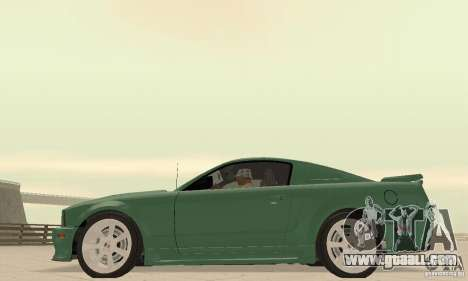 Saleen S281 v2 for GTA San Andreas right view