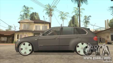 BMW X5 dubstore for GTA San Andreas left view