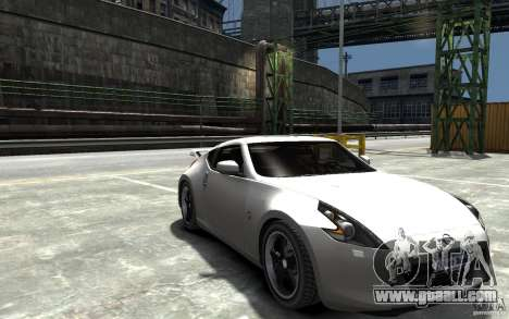 Nissan 370z Tuned Final for GTA 4 back view