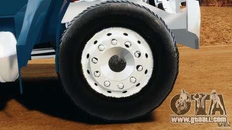 Ford F-650 XLT Superduty for GTA 4 inner view