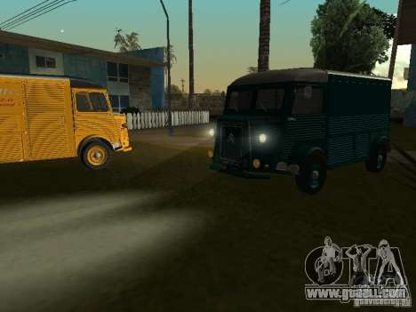 Citroen HY 1972 for GTA San Andreas right view