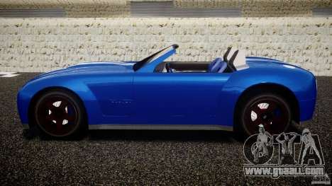Ford Shelby Cobra Concept for GTA 4 left view