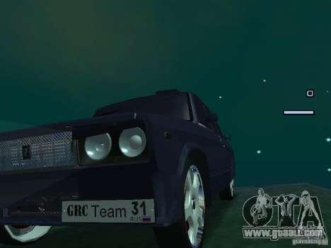 VAZ 2105 Drift King for GTA San Andreas back left view