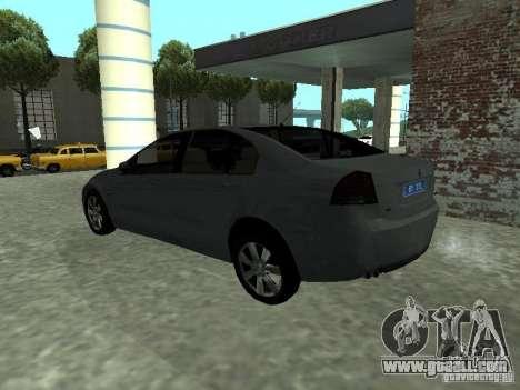 Holden Calais for GTA San Andreas left view