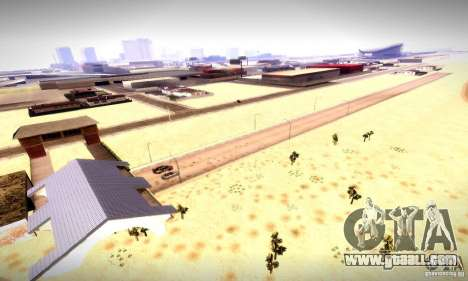 Drag Track Final for GTA San Andreas