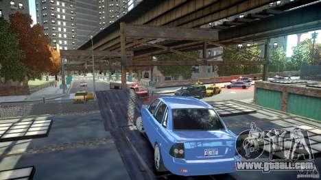 Lada Priora Light Tuning for GTA 4 back left view