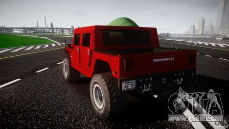 Hummer H1 4x4 OffRoad Truck v.2.0 for GTA 4 side view