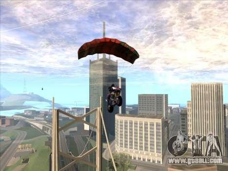 Parachute for bajka for GTA San Andreas