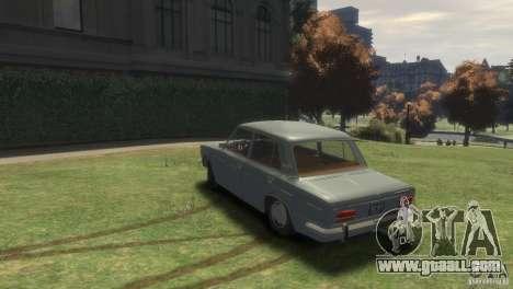 VAZ 2103 for GTA 4 left view