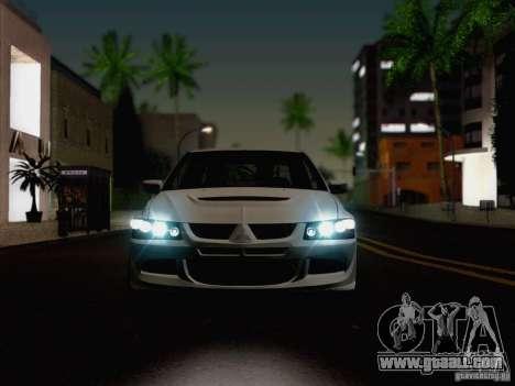 New Car Lights Effect for GTA San Andreas fifth screenshot