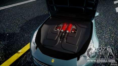 Ferrari FF 2012 for GTA 4 back view