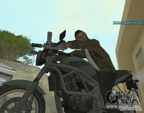 PCJ-600 in GTA IV for GTA San Andreas left view