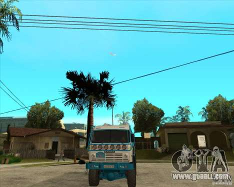 KAMAZ 4911 (2007) Rally Raid version for GTA San Andreas