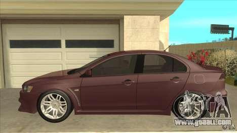 Proton Inspira v1 for GTA San Andreas left view