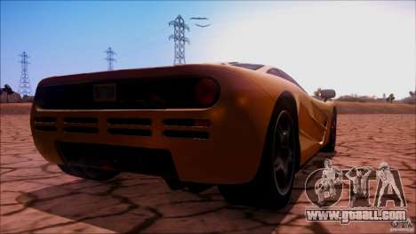 McLaren F1 v1.0.1 1994 for GTA San Andreas left view