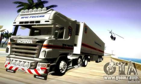 Scania R620 Emercom Of Russia for GTA San Andreas right view